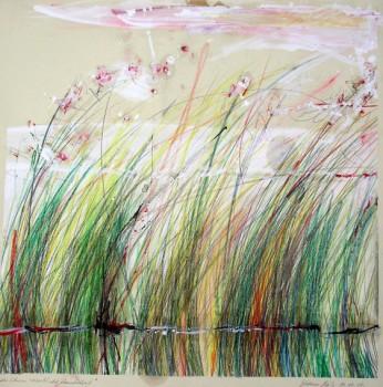 """""""Zeichnung 2010 62 x 62 cm"""""""